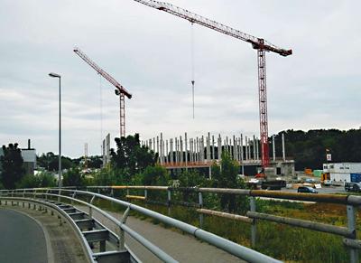 Bild Bau Rechenzentrum
